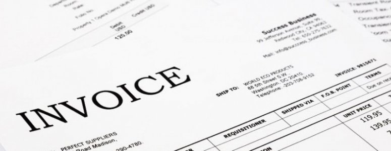 What to include on an invoice for contract work