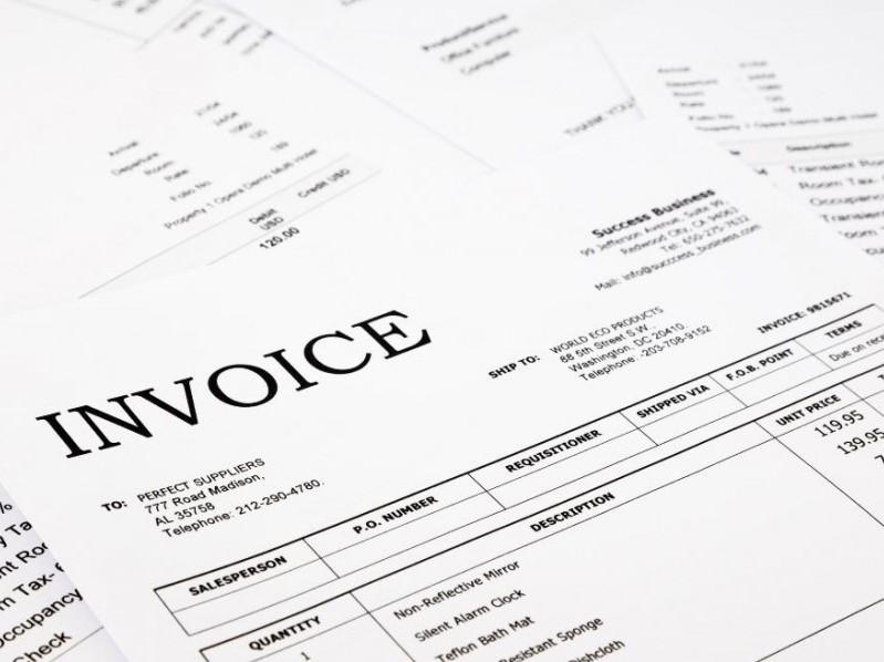 Limited company invoice